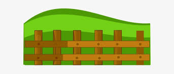 Farm Picket Fence Clipart Fence Cartoon Free Transparent Png Download Pngkey