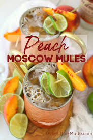 ginger peach moscow mule moscow mule