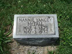 Nannie Smith Yancey McFall (1875-1932) - Find A Grave Memorial
