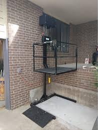 wheelchair platform lift elevator