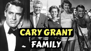 Actor Cary Grant Family Photos with Wife Barbara Harris and ...