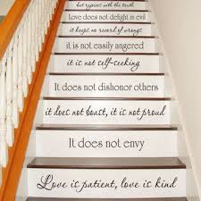 Vinyl Wall Decal Decor 23x31 Love Is Patient Love Is Kind 1 Corinthians 13 4 7