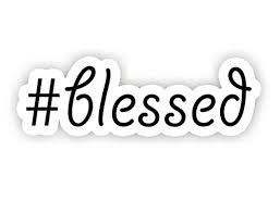 Blessed Quote Inspirational Quote Stickers 2 5 Vinyl Decal Laptop Decor Window Vinyl Decal Sticker Buy Online In Kuwait Funpopstickers Products In Kuwait See Prices Reviews And Free Delivery Over Kd 20 000 Desertcart