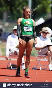 Eugene, Oregon, USA. 10th June, 2015. Ashlee Moore Keys competes ...