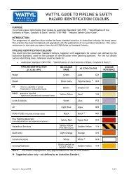 Metal Protection Colour Guide Wattyl