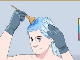 how to dye hair blue 14 steps with