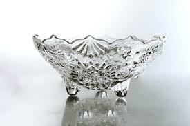 mikasa crystal candy dish s glass