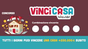 Estrazione VinciCasa: i numeri vincenti estratti oggi 24 aprile ...