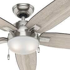 hunter 54 in contemporary ceiling fan