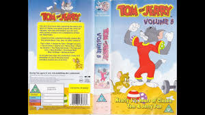 Start and End of Tom and Jerry: Volume 8 (2003 UK VHS) - YouTube