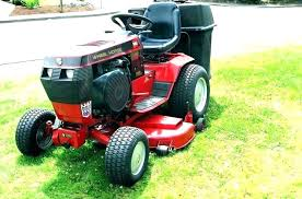 best lawn tractor for snow removal
