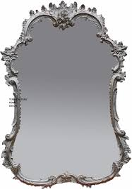 ornate antique silver arched wall