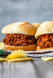 homemade sloppy joes recipe from