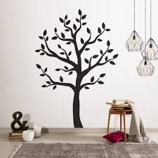 Black Palm Tree Wall Sticker Large Decal And White Family Design Vinyl Nursery Silhouette Big Vamosrayos