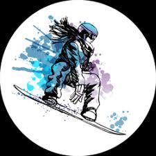 Snowboarding Car Stickers Decals Over A Dozen Unique Designs