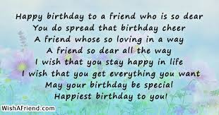 happy birthday to a friend who friends birthday quote