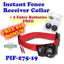 Waterproof Receiver Bonus 2 Batteries Petsafe Wireless Fence Collar Pif 275 19 5 Adjustable Levels Of