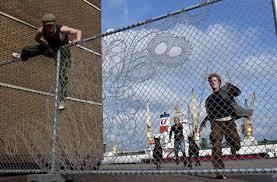 Decorative Wire Mesh Lace Fence Design Designs Ideas On Dornob