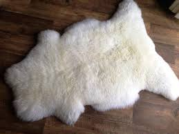 faux sheepskin rug large great home