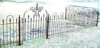 metal yard fence panels laymi co