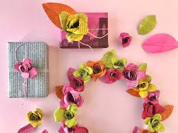 how to make paper flowers the new