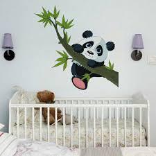 Zoo Animal Panda Tree Birds Kids Room Decor Baby Room Decals Wall Sticker For Sale Online Ebay