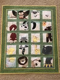 Pin by Myrna Williamson on AG animal adventure | Animal baby quilt, Animal  quilts, Picture quilts