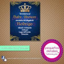 Invitaciones Digitales Nino Principe Baby Shower Cumpleanos