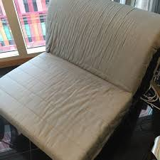 one seat sofa bed ikea lycksele lovas