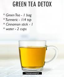 morning detox tea recipes for healthy