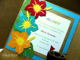Invitacion Fiesta Hawaiana Fiesta Hawaiana Invitaciones De