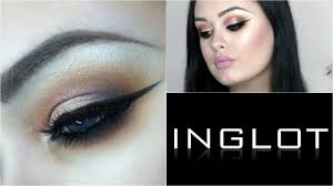 full face of inglot makeup tutorial