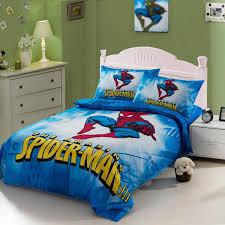 spiderman spider man bedding set twin
