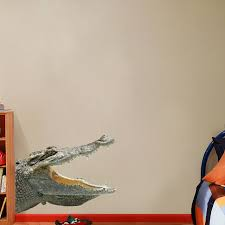 Real Life Alligator Printed Wall Decal Wall Decals Print Decals Wall Prints