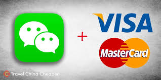 foreign credit card to wechat pay