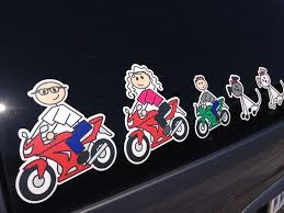 Full Color Family Stickers Full Color Family Car Decals