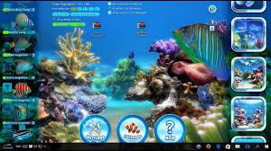 خلفيات متحركة لسطح المكتب Sim Aquarium 3 8 Build 60 Platinum
