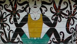 Gambar Motif Figuratif Manusia Site Visiting Kutai Informasi Pariwisata  Gambar Ragam di Rebanas - Rebanas