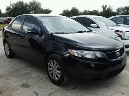 Kia Forte Ex 2010 Black 2.0L 4 vin: KNAFU4A26A5856572 free car history