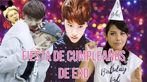 Haz Tu Fiesta De Cumpleanos De Exo Kpop Diy Korean Corner