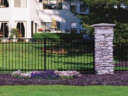 Ohio Fence Company Eads Fence Co Top Style Not Your Grandfather S Aluminum Fence