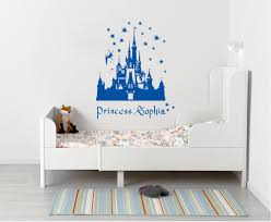 Princess Castle Personalized Wall Sticker Decal Stencil Silhouette St2 Decalz Co