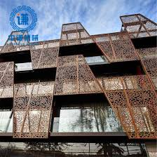 China Home Decor Corten Steel Rustic Decorative Metal Wall Panel Fencing Panels China Laser Cutting Fence And Metal Privacy Fence Price