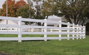 4 Rail Vinyl Fence Post Rail Fence Superior Plastic Products