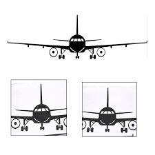 1pcs S M L 3d Cartoon Airplane Removable Wall Sticker Vinyl Decals For Kids Room Boys Home Decoration Mural Wall Stickers Aliexpress