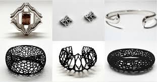 amazing 3d printed jewelry designers to
