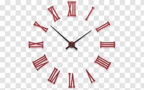 Clock Face Wall Decal Mantel Pain Transparent Png