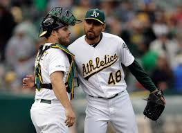 Joakim Soria ejected from A's game after arguing strikes | The ...
