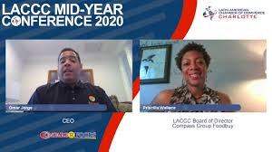 LACCC Mid-Year Conference 2020! - Speaker Omar Jorge, Interviewer Priscilla  Wallace - YouTube