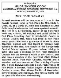 Hilda Snyder Cook (1896-1971) - Find A Grave Memorial